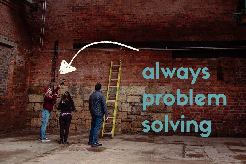problem solving at Engine Works by WIVA wedding industry virtual assistant